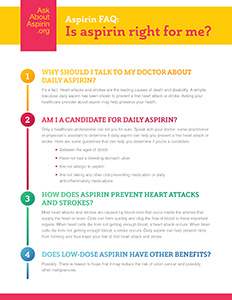 ask about aspirin faq thumbnail